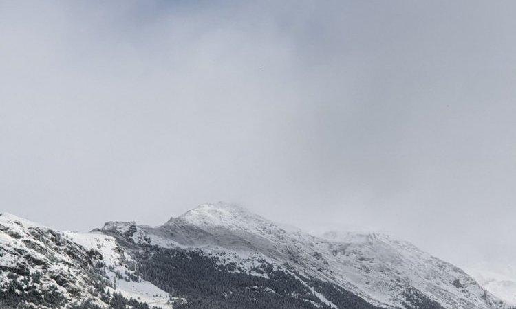 La Neige est présente en Haute Maurienne