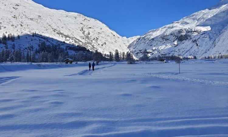 Bessans, Ski de fond